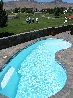 Seaside Fiberglass Pool in Elizabethville, PA