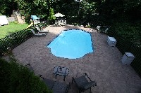 Vegas Fiberglass Pool in Caldwell, NJ